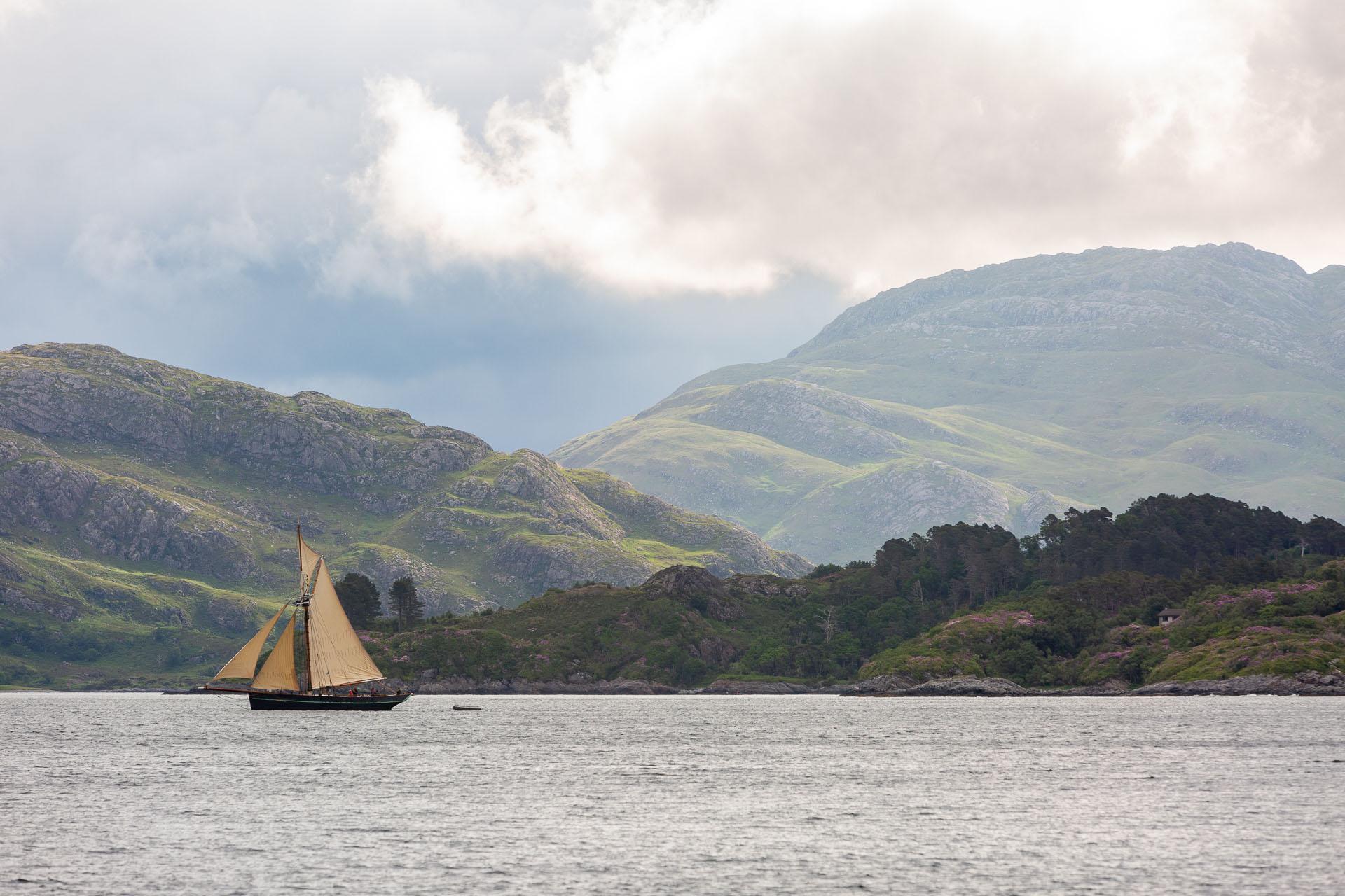 Pellew Scotland rolling hills