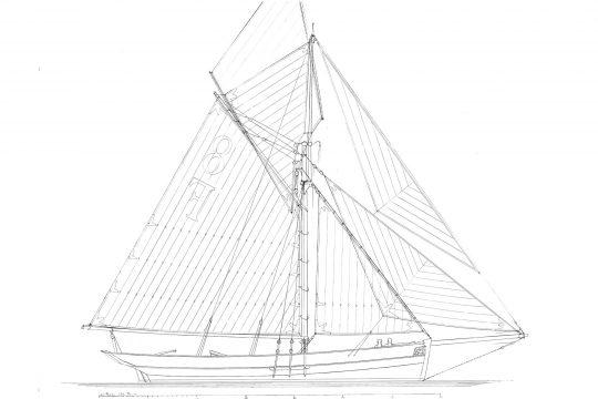Pellew drawing plans