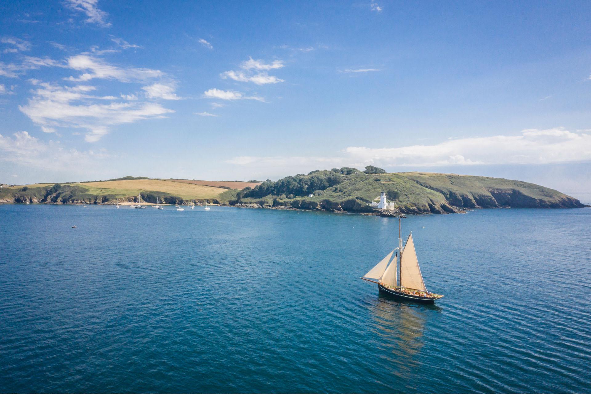 Pellew sailing Cornwall