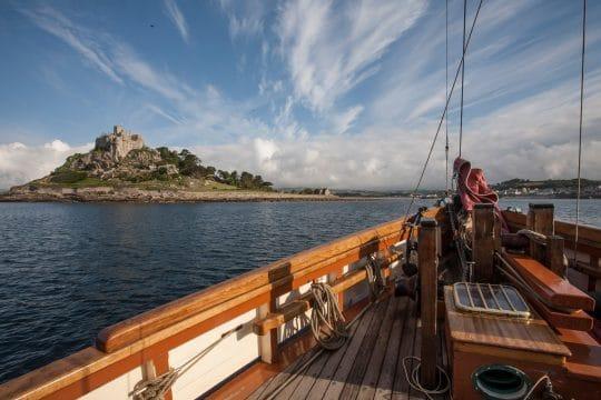 Pilgrim of Brixham St. Michael's Mount Sailing Holidays in Devon and Cornwall