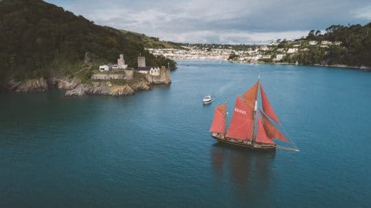 Pilgrim of Brixham Dartmouth sailing