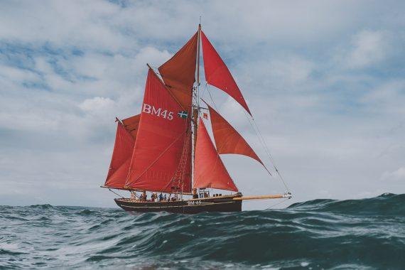 Pilgrim at sea