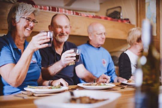 Pilgrim-guest-dinner