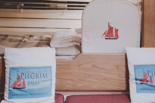 Pilgrim interior cushion