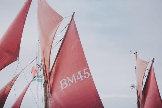 Pilgrim sails