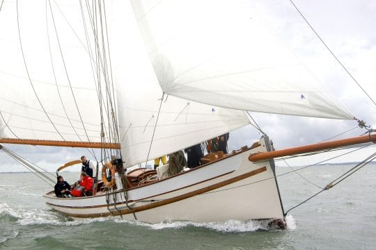 Polly agatha under sail