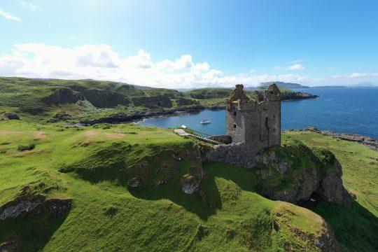 Scotland-Kerrera-Castle-Yacht