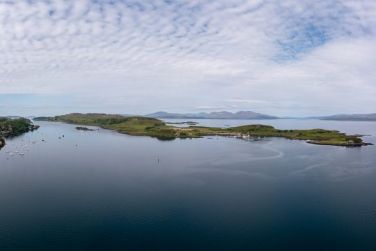 Scotland-Kerrera-Oban-Mull-aerial