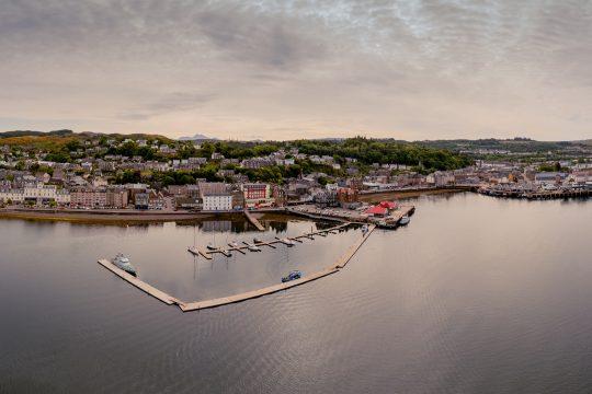Scotland-Oban-North-Pier-Aerial