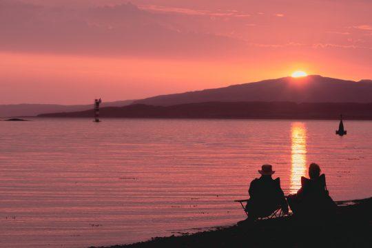 Scotland-Oban-Sunset-Beach