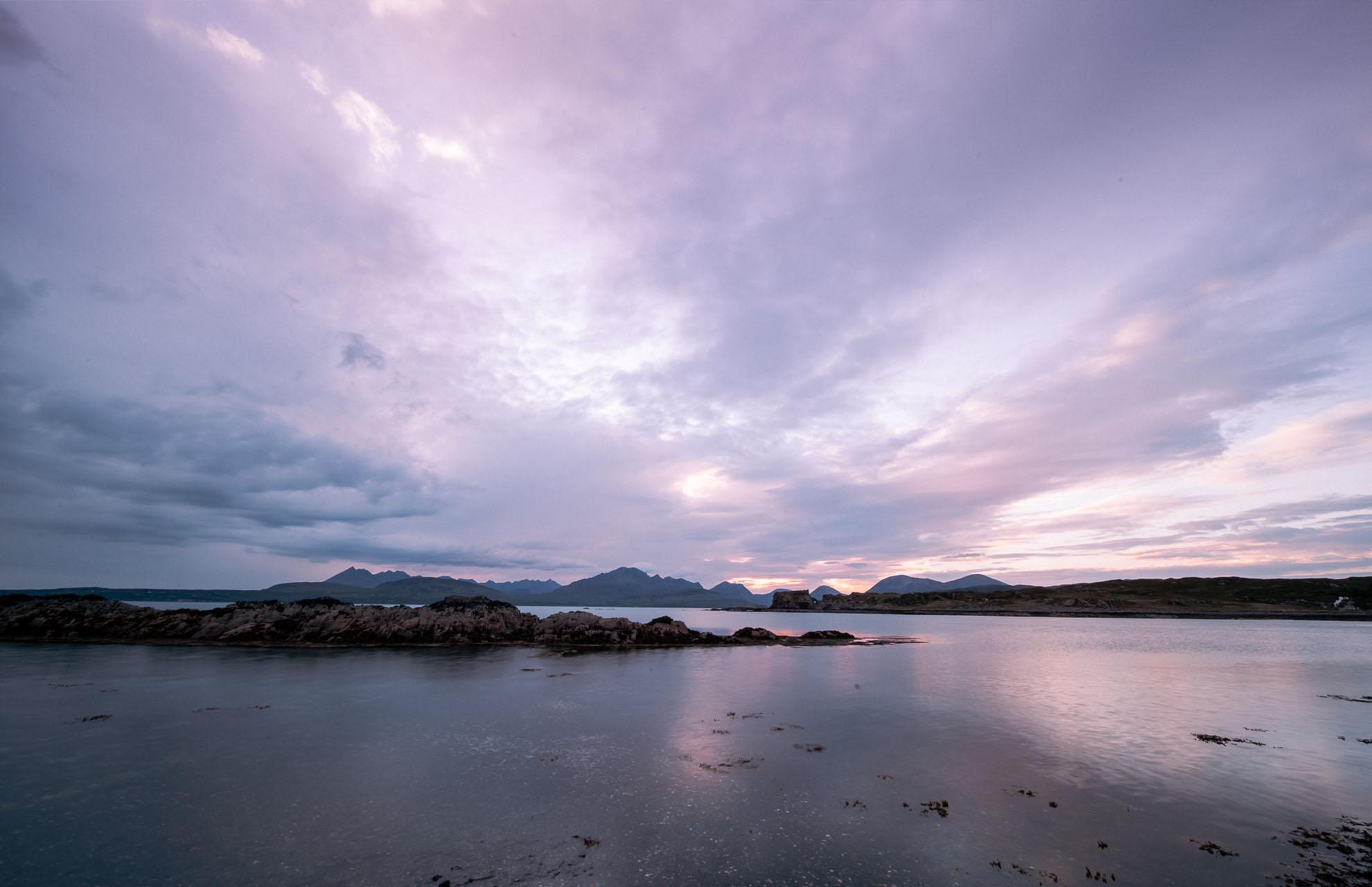 Scotland Skye Sunset