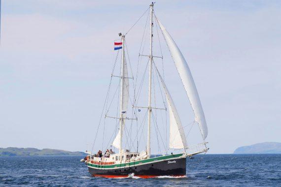 Steady sailing scotland