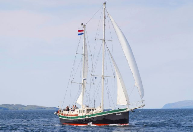 Sailing in the Outer Hebrides