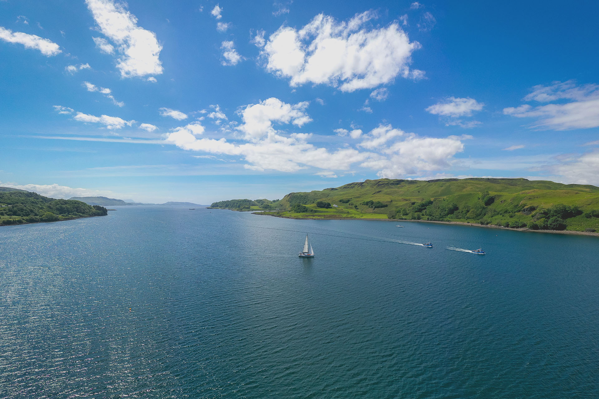 scotland sailing