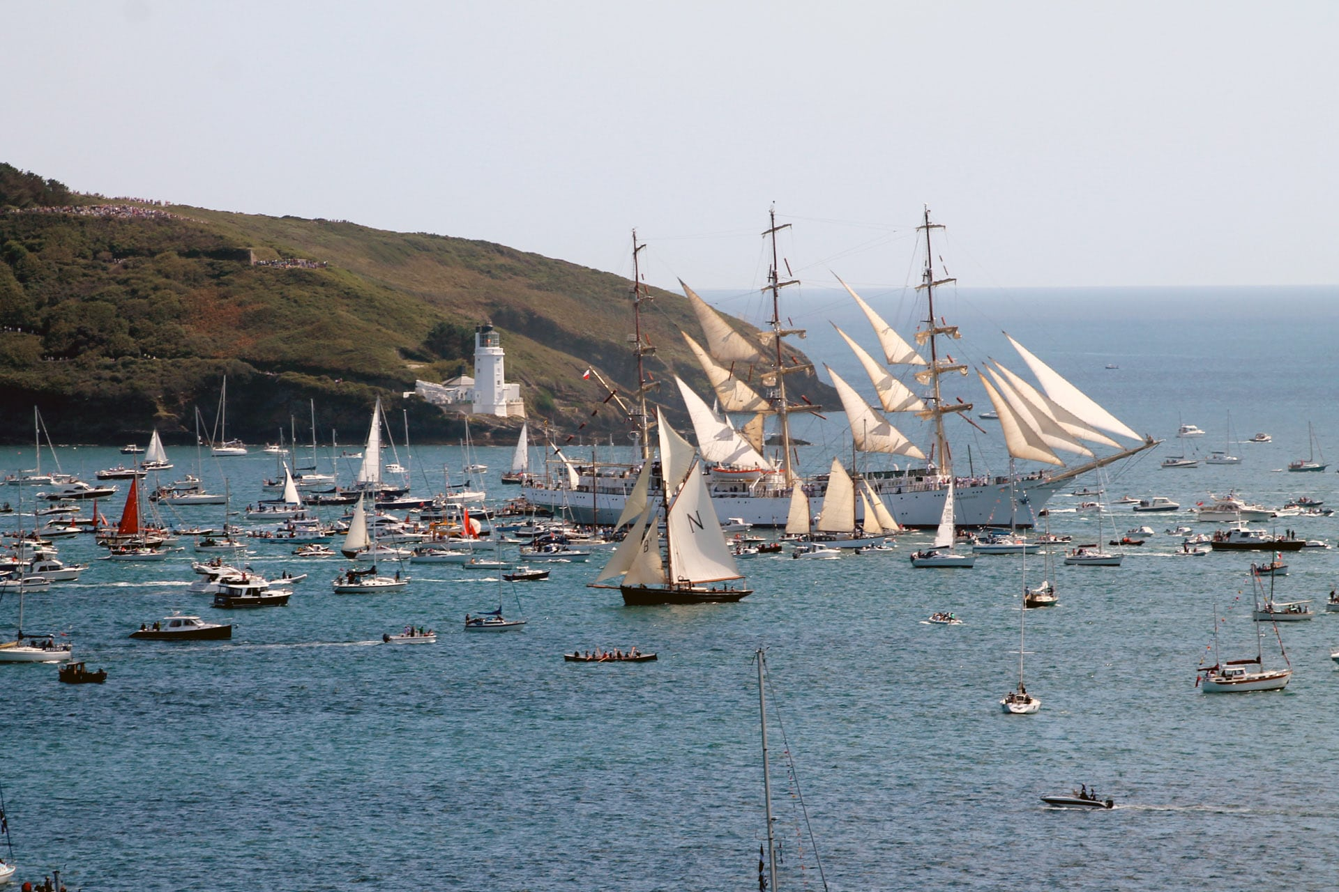 Tall Ships Race Falmouth Point