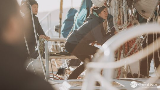 Trek and Sail guests zuza