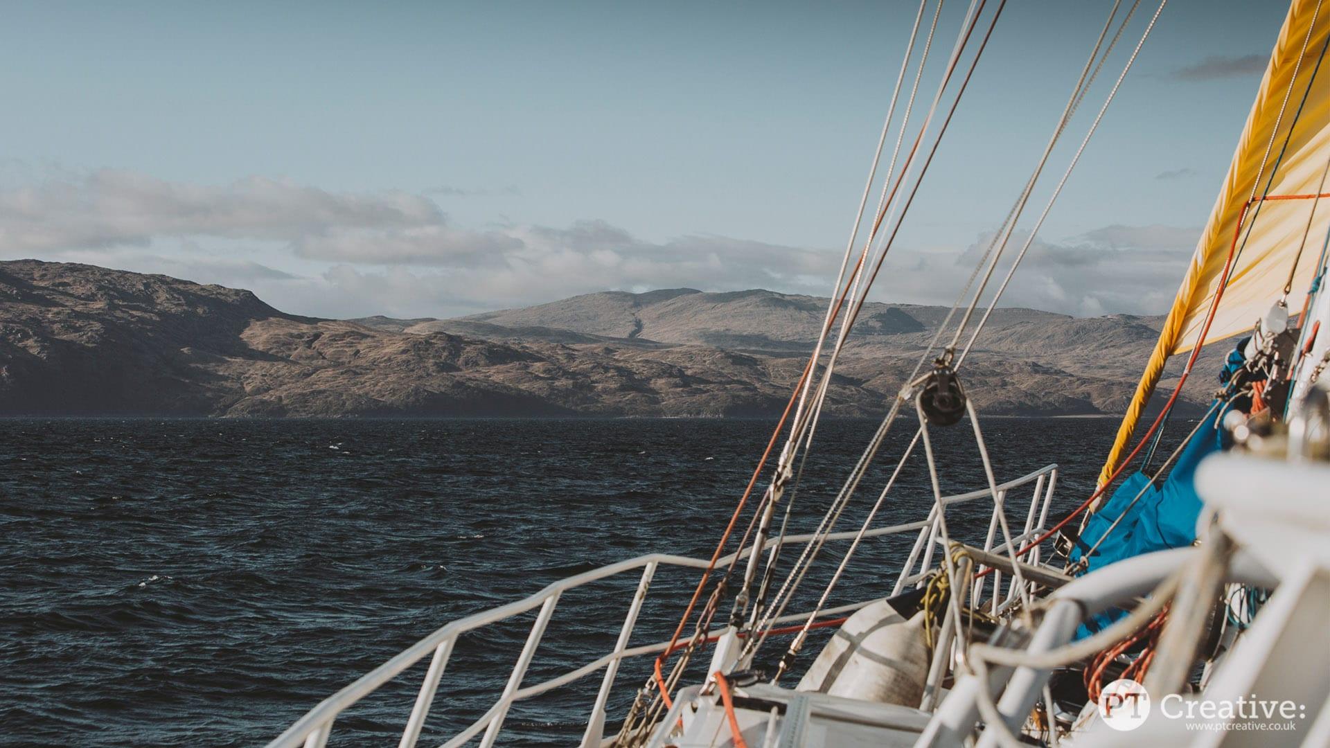 Trek and sail zuza scotland