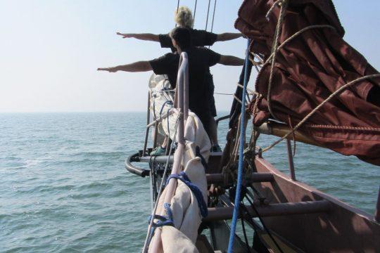 Trinovante guests at bows