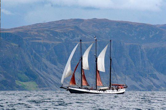 Trinovante sailing