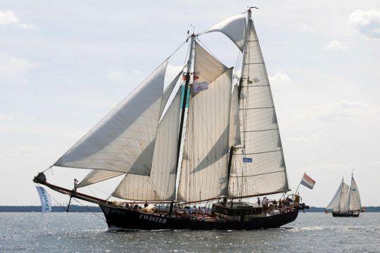 Twister wooden schooner sailing holidays