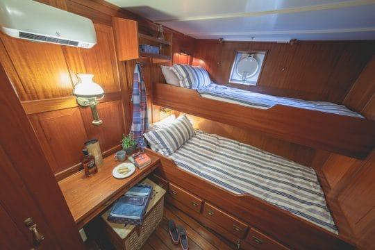 Venturesail-Blue-Clipper-Interior-twin-cabin
