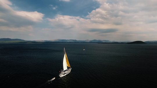 Zuza- fullsail oban aerial